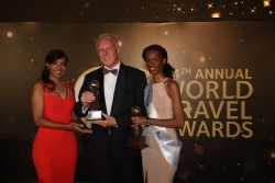Rex Nijhof General Manager Kigali Marriott Hotel receiving the award_ (002).jpg
